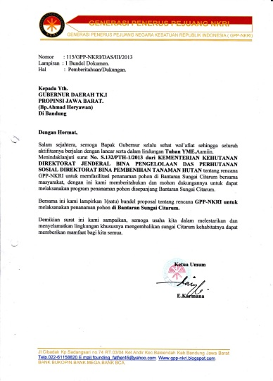 Contoh Surat Permohonan Audiensi Gubernur Backup Gambar