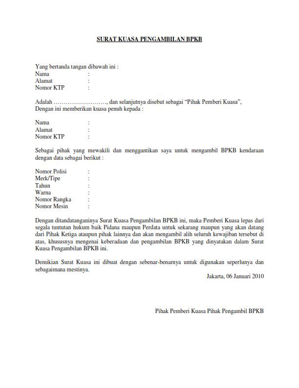 Gambar ini tersedia dalam format jpg png gif Contoh Surat Kuasa Aktivasi Kartu Xl
