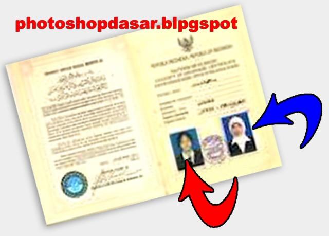 Contoh Foto Surat Nikah Backup Gambar