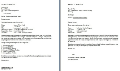 Contoh Surat Permohonan Mutasi Guru Antar Provinsi Backup