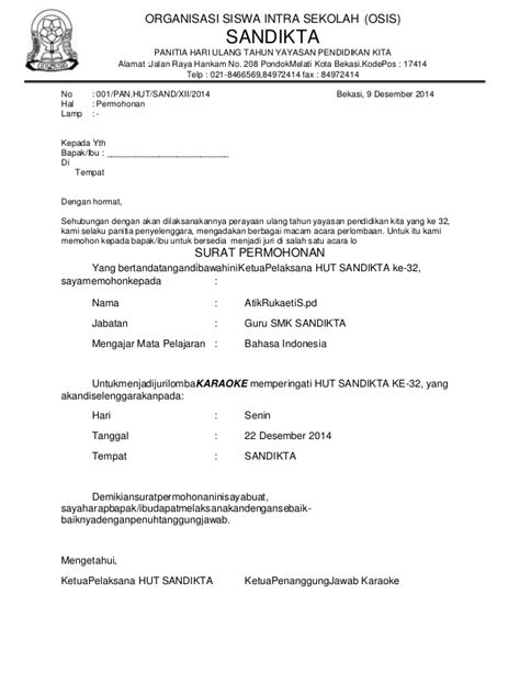 Contoh Surat Keputusan Dewan Juri Lomba Tygpress