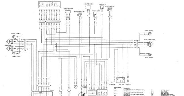 Wiring Diagram Satria Fu