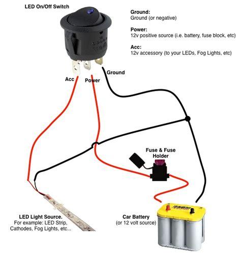 Wiring Diagram Led Rocker Switch  U2013 Backup Gambar